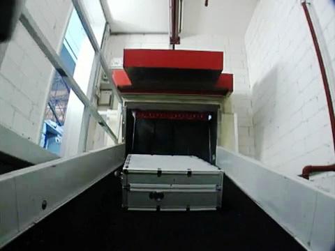 Barriera tagliafuoco per nastri trasportatori ECClos®-Q