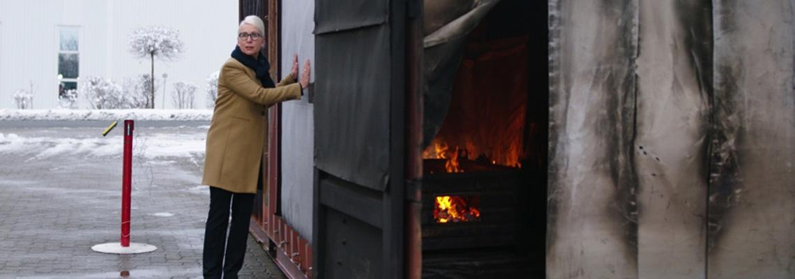 Container Antincendio per simulazioni incendio